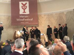 I Membri del Club d'Excellence sul palco del MWF