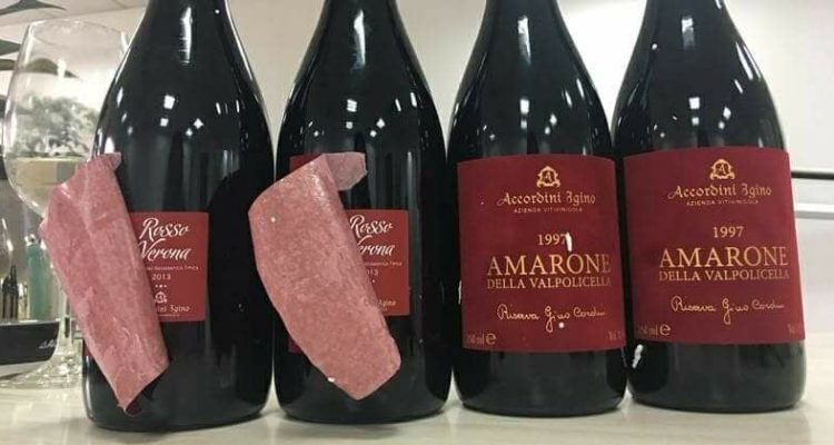 Vi ricordate l'Amarone della Valpolicella <em>double face</em> di Igino Accordini? La magistratura ha sequestrato tutto