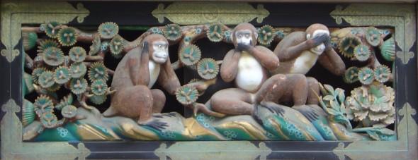 3 scimmiette sagge
