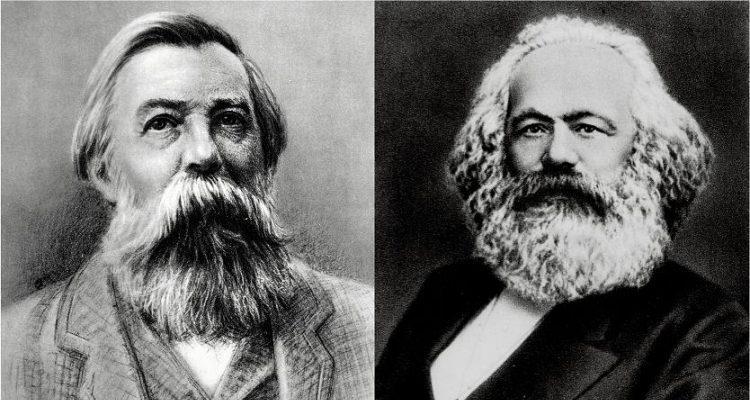 Caro Engels al vino pensaci tu. Tuo Karl Marx