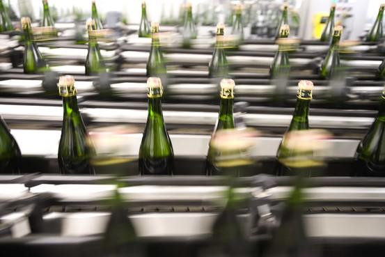 La produzione di Champagne