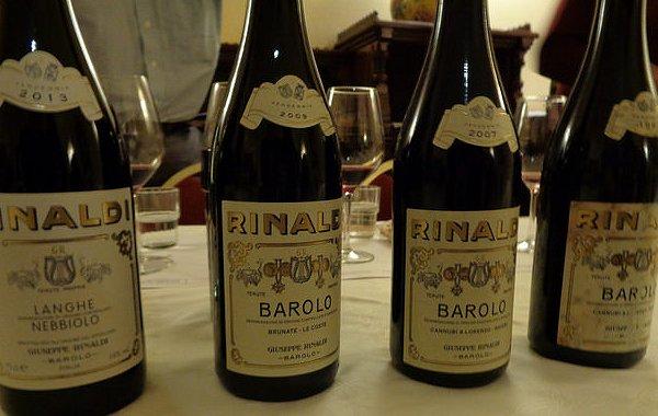 Beppe Rinaldi e il Barolo ieri, oggi e domani. Mini-verticale a Taormina Gourmet (video)
