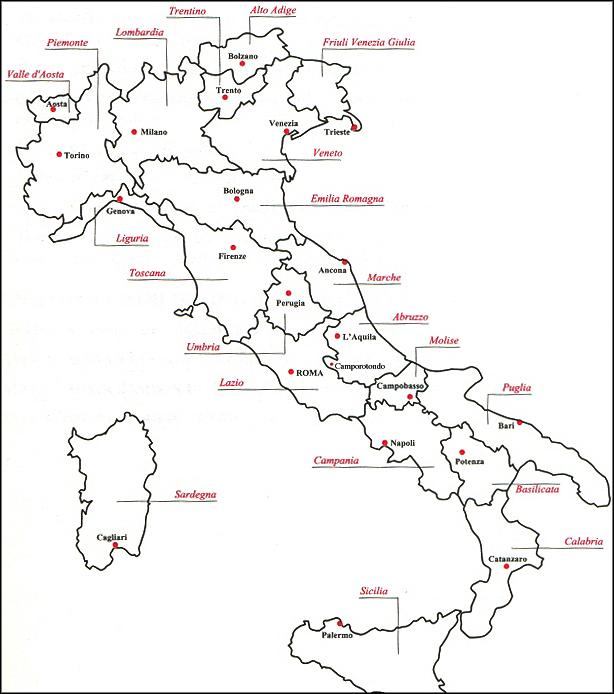 Cartina Italia Regioni E Capoluoghi E Province.Scova L Intruso La Mappa Di Bibenda Ha Un Capoluogo In Piu Intravino