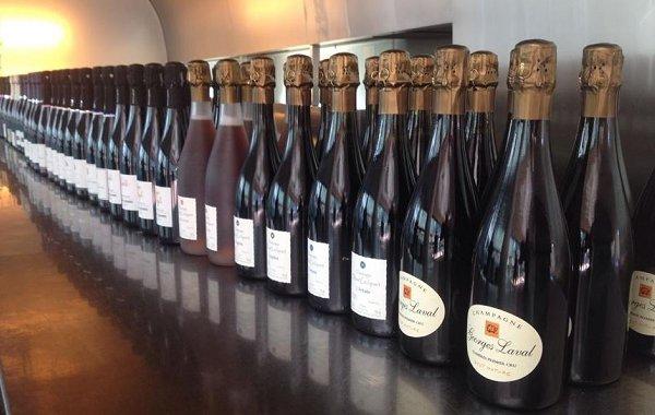Champagne bio a Roma