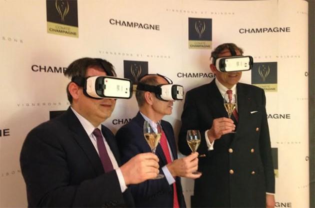 Il nuovo mondo del vino si guarda in 3D e in realtà virtuale: Langhe e Champagne in prima fila