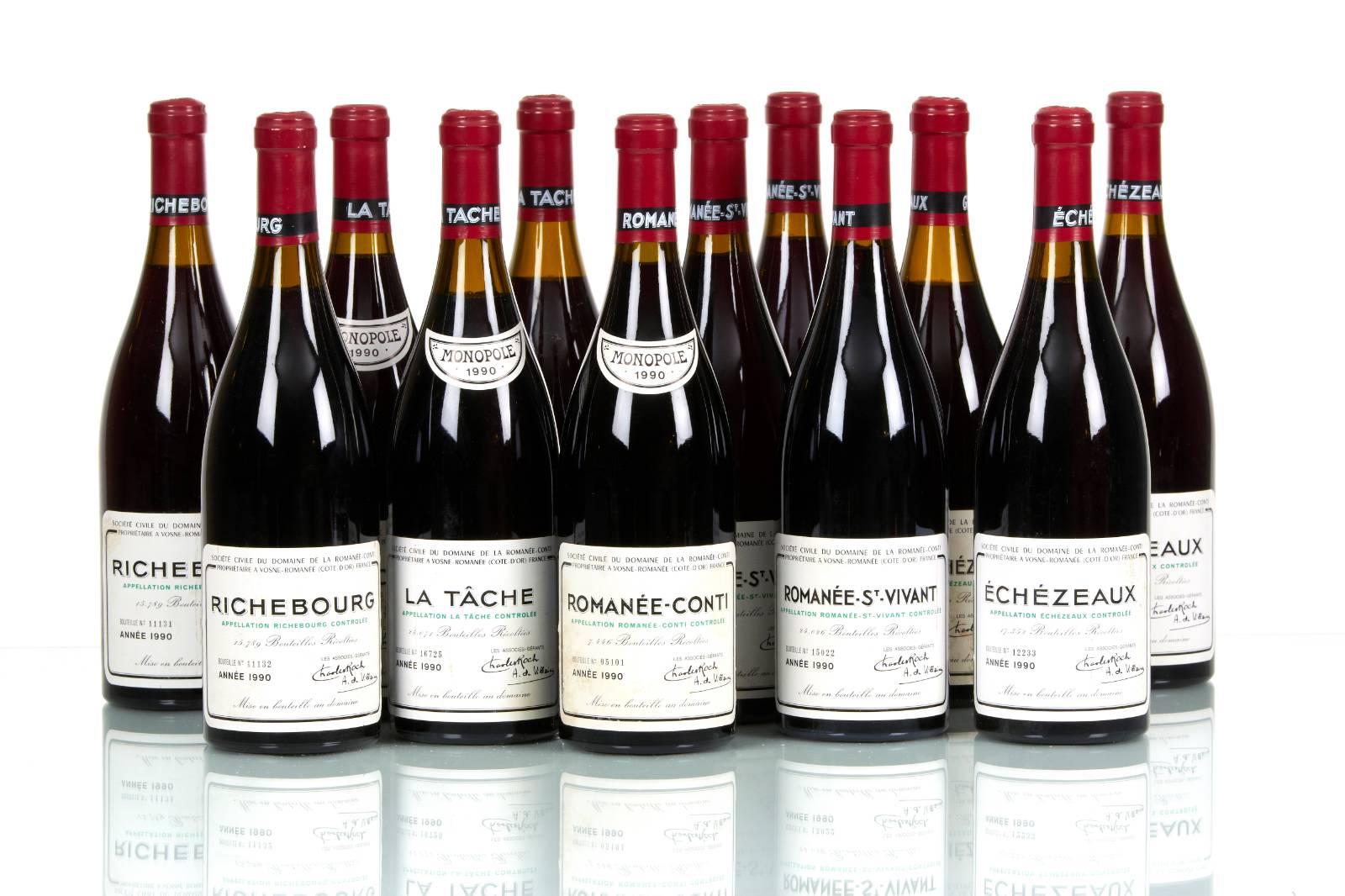 Quesito non ozioso sulle batterie di vini firmati DRC, cioè Domaine de la Romanée-Conti