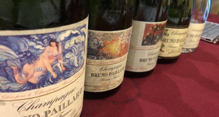 Champagne Bruno Paillard Blanc de Blancs in verticale 2012-1996