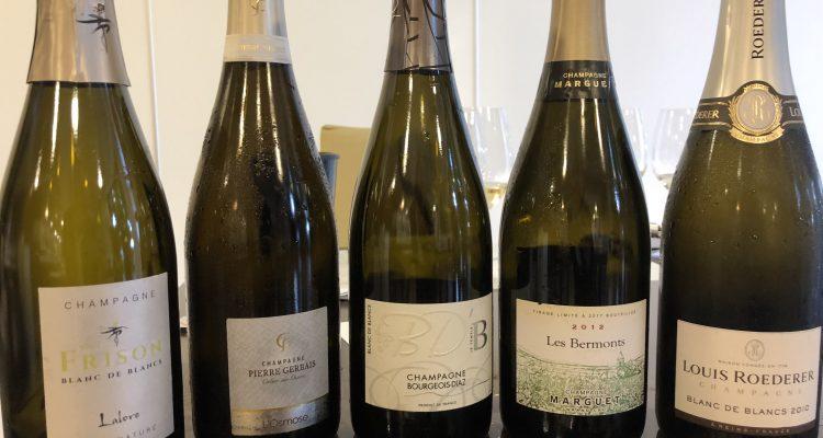 Champagne a confronto a EinProsit Grado 2018 – Parte 1, Blanc de Blancs Pas Dosè