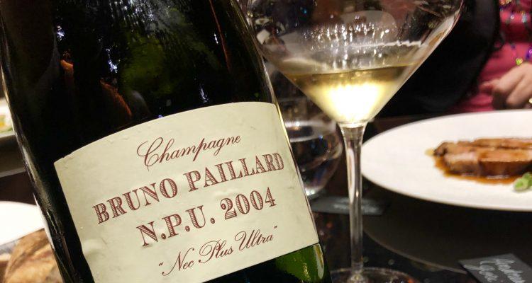 Champagne NPU 2004 Bruno Paillard, l'impresa eccezionale di essere normali