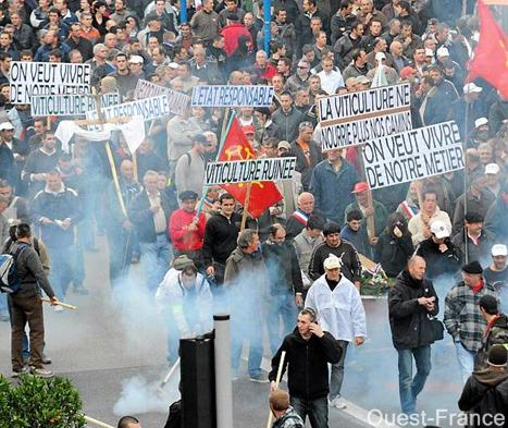 il corteo di Montpellier