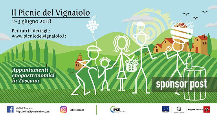 Pic-nic del Vignaiolo: il 2 e 3 giugno la degustazione è tra i filari della Toscana