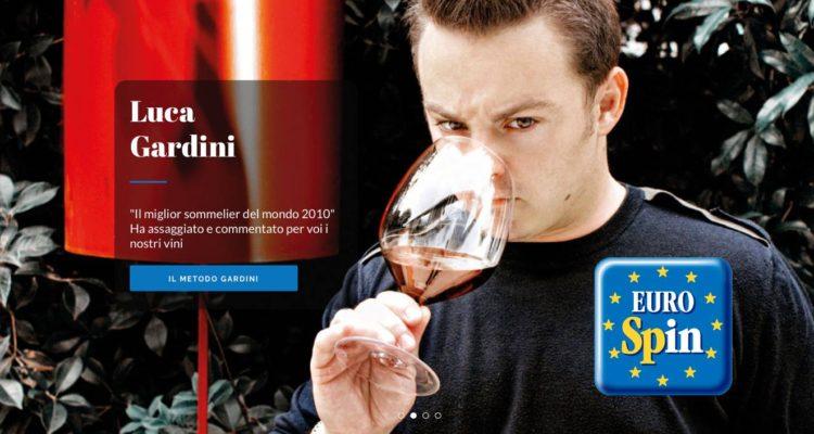 Luca Gardini testimonial del vino Eurospin da 1 euro e 89. Ma il sommelier campione del mondo può tutto