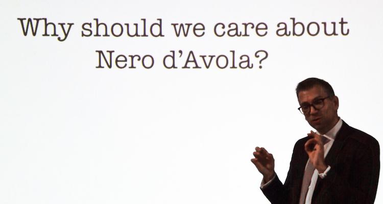 Quello che il Nero d'Avola ha da dire, parola di Mark Pygott MW