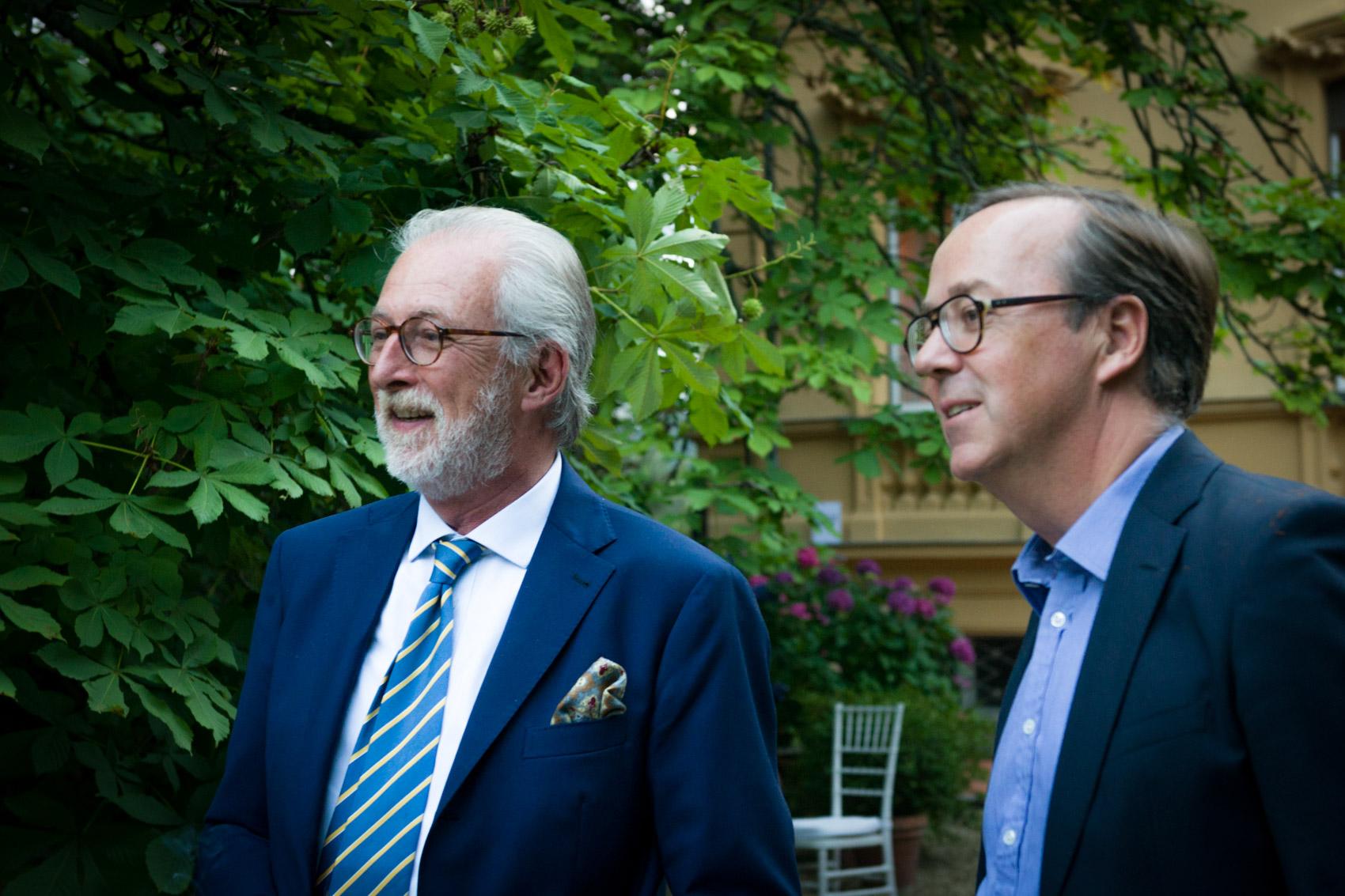 Massimo Sagna e Frédéric Rouzaud