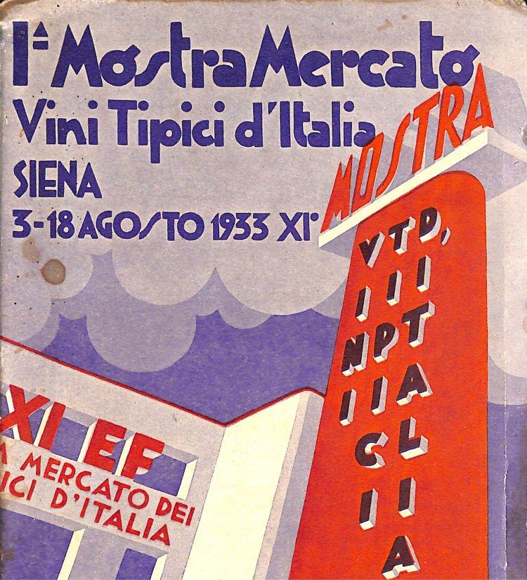Mostra mercato Siena 1933 - manifesto