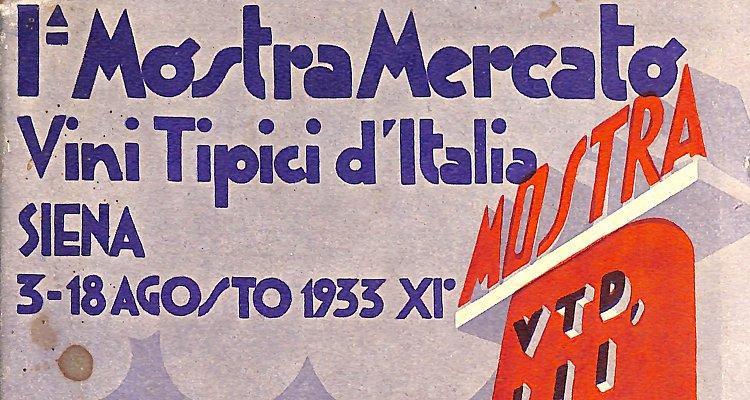 """La storia """"dimenticata"""" del Brunello di Montalcino (parte 4). 1933, il primo boom di vendite del '900"""