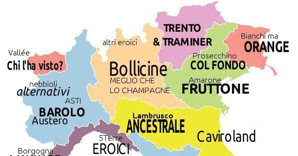 Mappa non ragionata dei luoghi comuni sul vino in Italia. Prima...