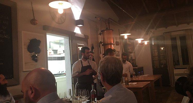 All'Osteria Borgo Syrah con Giampiero Pulcini: cronaca di assaggi naturali e unicorni