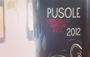 Pusole, Cannonau di Sardegna DOC 2012