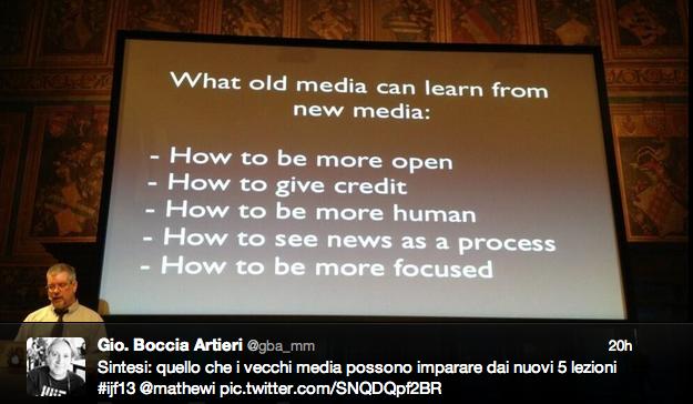 La trasparenza come soluzione. Tracce dal Festival Internazionale del Giornalismo di Perugia