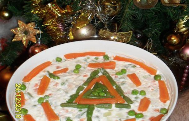 Decorazioni Natalizie Per Insalata Russa.E A Natale L Insalata Russa Per Daltonici Intravino