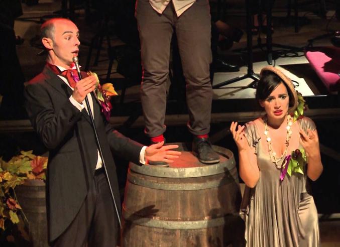 Opera & Wine. Barbatelle di Bacalov & Cignozzi, una di Vino commedia