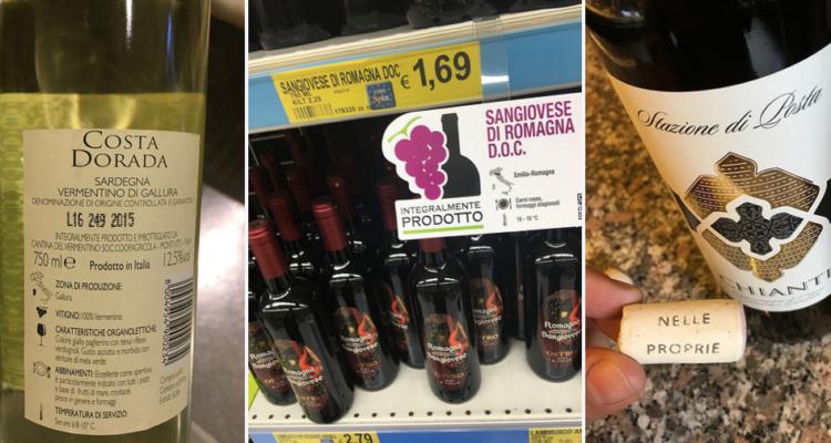 """Assaggio con punteggi dei vini Eurospin """"integralmente prodotti"""": qualcuno buono, altri per nulla"""