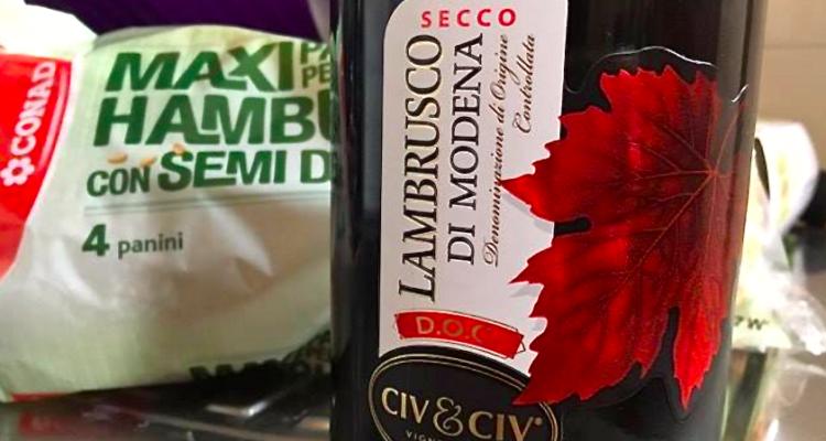 Il meglio della settimana conclusa da un Lambrusco di Modena Civ & Civ da 1,99 euro*