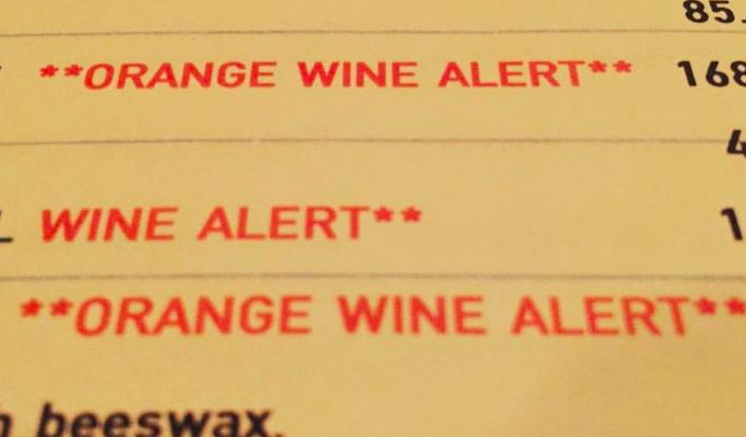 Consiglio molto pratico per maneggiare i vini naturali nella wine list al ristorante
