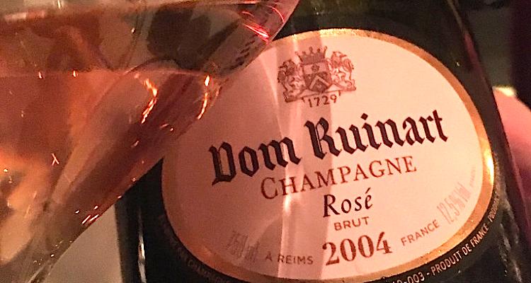Il genio di Davide Oldani per l'anteprima Dom Ruinart Blanc de Blancs 2006 e Rosé 2004