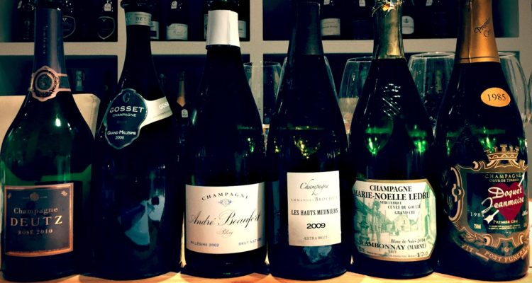 L'incredibile invenzione dello Champagne, a Milano da Gran Cru