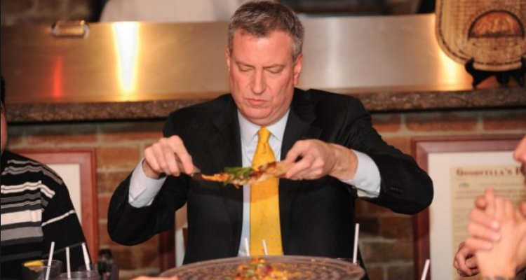 Qual è il ristorante preferito del sindaco di New York, Bill de Blasio?