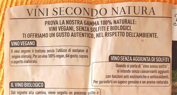 Lo scoop dei vini naturali Carrefour in diretta dal mio divano