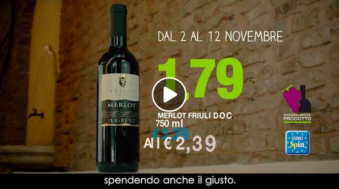 Quanti mila euro dovrebbe darvi Eurospin per fare la pubblicità di Luca Gardini?