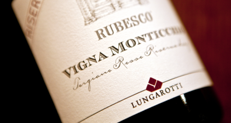 Tipi longevi: Torgiano Rosso Riserva Vigna Monticchio di Lungarotti, dal 1977 al 2010