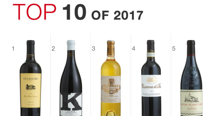 Come esce il vino italiano dalla Top 100 2017 del Wine Spectator? (Spoiler: male)