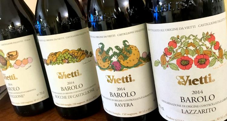 Vietti e il Barolo del triennio 2014-2015-2016