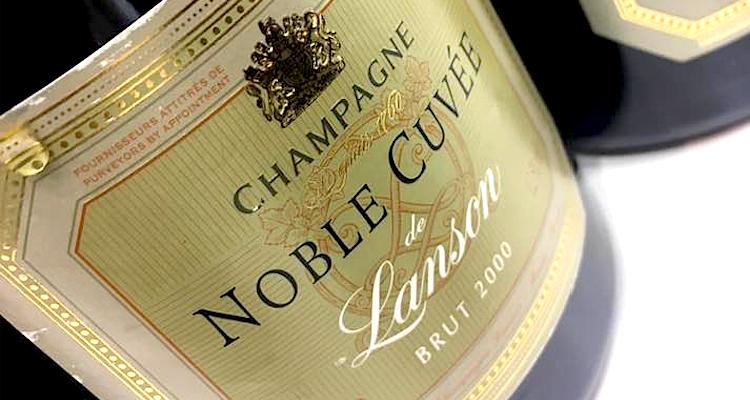 Champagne Lanson Noble Cuvée: una verticale in quattro annate splendide