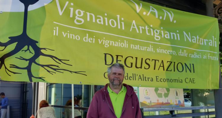 Alla Città dell'Altra Economia di Roma sono stato a trovare i V.A.N., una festa del vino naturale