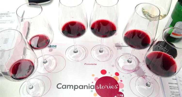 I vini rossi di Campania Stories 2018 e il lato buono della forza