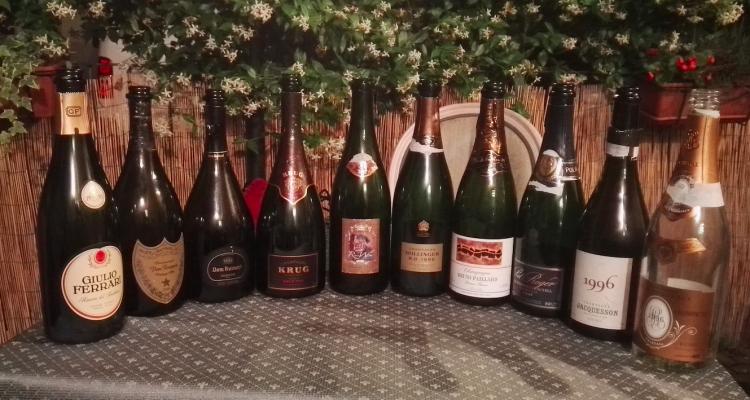 Batteria clamorosa di top Champagne 1996 (e Giulio Ferrari 1993 in mezzo)