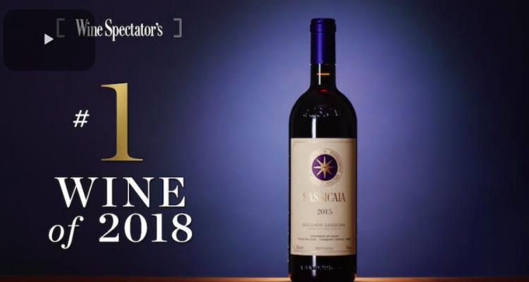 Sassicaia 2015 in cima alla Top 100 di Wine Spectator. Ecco i primi 10 vini spiegati bene
