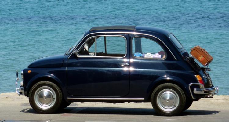 Un'estate nella Fiat 500 (cosa c'entra col vino?)