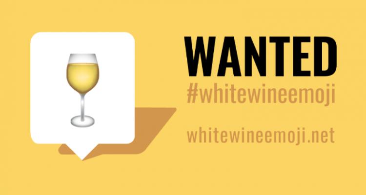 L'emoji del calice di vino bianco? Bocciata, per ora accontentatevi di un buon rosso