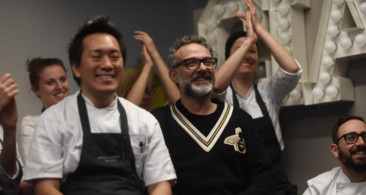 Massimo Bottura, lo spettacolo quotidiano della grande cucina