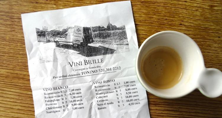 La Romanella a domicilio e altre cose che bevono i romani in quarantena (con degustazione)