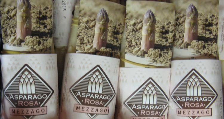 Cosa bere con l'asparago rosa di Mezzago