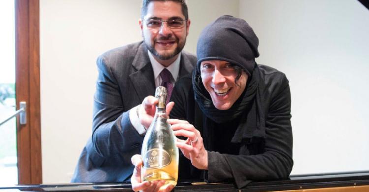Ezio Bosso e il vino nato con la sua musica