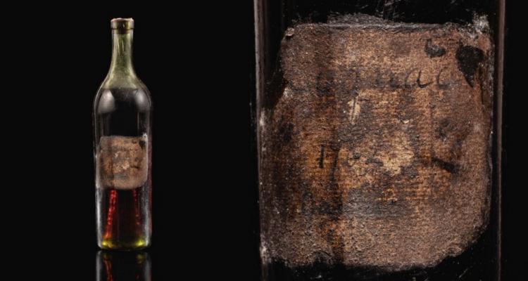 Quanto costa una bottiglia di Cognac di 258 anni?
