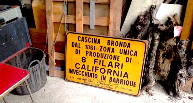 """Il mistero in bottiglia: """"8 filari California"""" di Nino Bronda"""